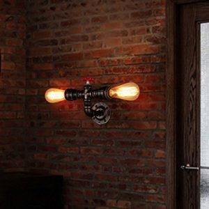 Water Pipe Wandleuchte Nochx Vintage Retro Wasser Rohr Licht Retro